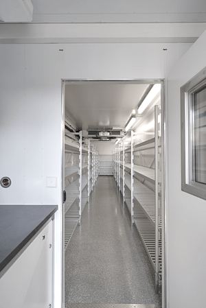 Another inside view of Weiss Phatmatechnik's Mobile Stability Chambers