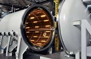 Temperature Control in Low Vacuum Chambers for Aerospace testing
