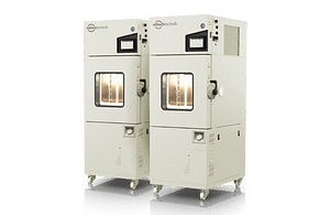 Laboratory test chambers for research and quality control for reproducible temperature and climate tests