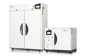 Stability Test Chambers in two sizes by Weiss Technik